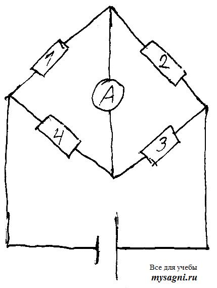 Принцип работы тензорезистора.